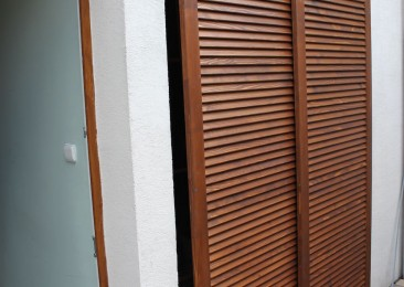 posuvné lamelové dvere